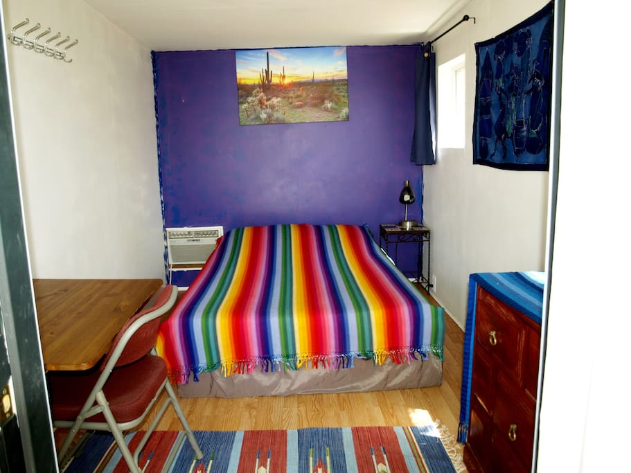 Cozy colorful room