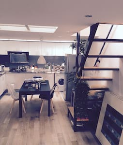 Cool and Spacious Loft in Center BJ - Peking