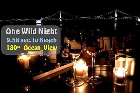 (Beach Front) One wild night Botanic Studio_ENG OK - Suyeong-gu - Apartamento