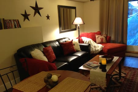 Cozy romantic apartment near town - Leilighet