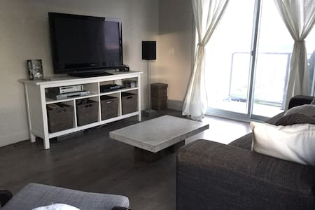 Grand 5 1/2, à 5 min de la ville - Appartement