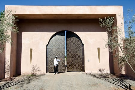 Luxury villa Marrakesh - Lahebichate - Villa
