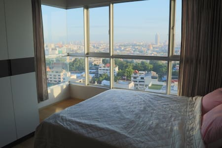 1BR next to BTS near river and town - Bangkok - Daire