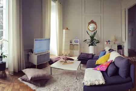 Chambre privée dans bel appartement à Bayonne - Huoneisto