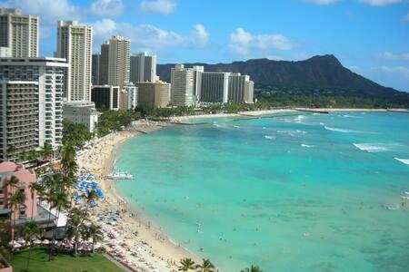 Waikiki Grand PH Sundeck w/ parking - Honolulu - Apartment