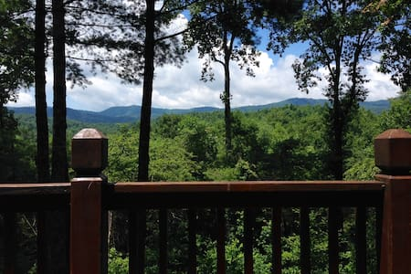 Private, serene cabin in the forest - Ellijay