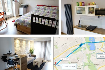 Lovely, clean room with breakfast - Milton Keynes - Rumah