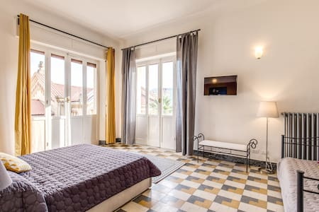 Cinque Terre Vernazza Bedroom - アパート