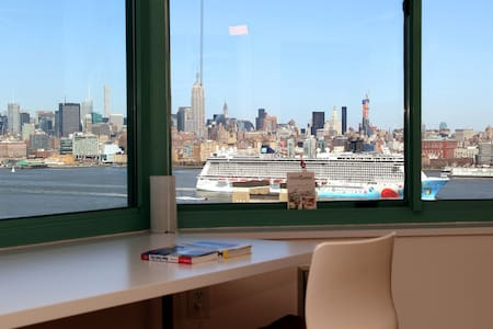 Best NYC Skyline View ~Private Bath - Jersey City - Apartment