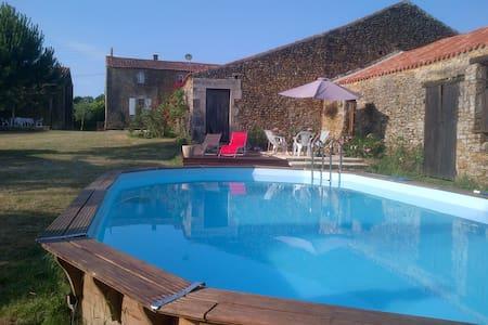 Gîte de charme authentique piscine prox Puy du Fou - Ev