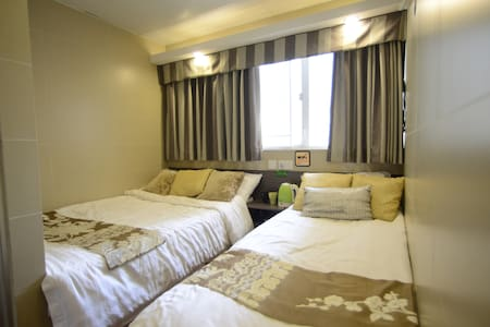 MongKok CBC ExquisiteTriple Room - Apartament