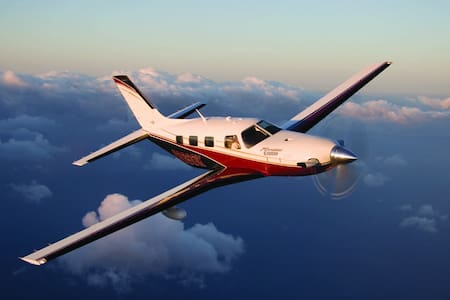 Private Flight max 5 passengers North Europe - Fly
