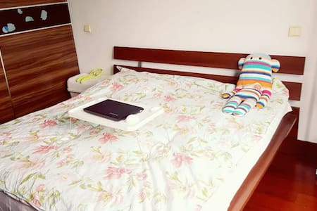 near songjiang college  and the Thames town, - Wohnung