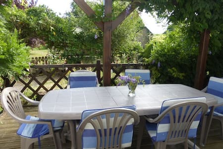 Gite accommodation in Brittany - Saint-Martin-sur-Oust - Hus