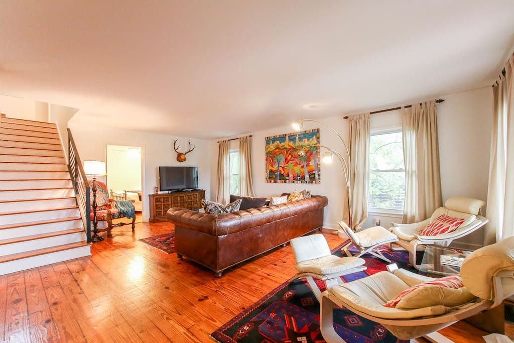 Living room, main house