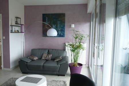 chouette appartement vue sur mer - Équeurdreville-Hainneville - Wohnung