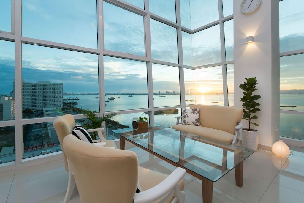 bercuti di Seafront Scandinavian Home, Pulau Pinang