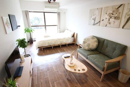 30sec! Green View Shinjuku Gyoen - Shinjuku-ku - Lägenhet
