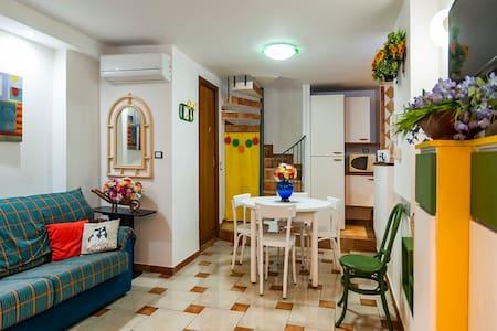 House in the center of Gaeta