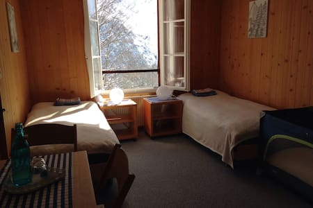 Schulhaus Gimmelwald (2 beds) - Gimmelwald