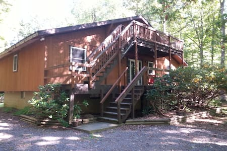 Big Beautiful Chalet With Hot Tub - Albrightsville - Casa