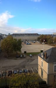 Beautiful downtown apartment with view - Rennes