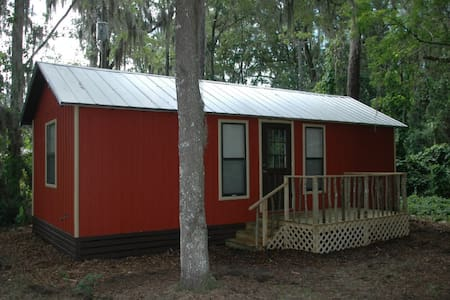 Cabin on the Ocklawaha River - Zomerhuis/Cottage