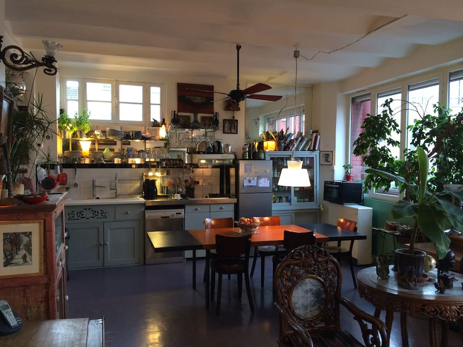 Côté cuisine / salle à manger