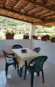 meravigliosa casa con veranda vista mare nel verde - Tropea