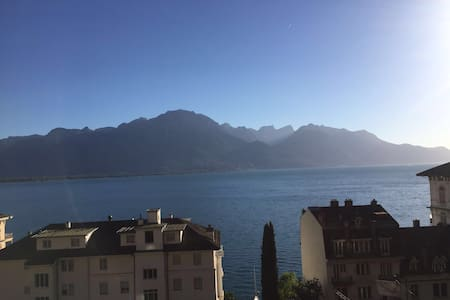 Privat flat with  lake view - Appartement