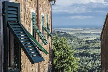 Tuscany: Apt with cool view of sea - Wohnung