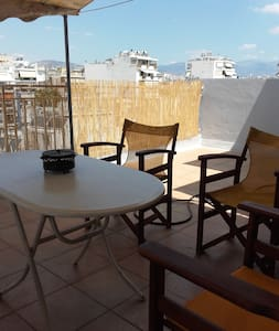 Rooftop Acropolis view studio Athens center - Appartement