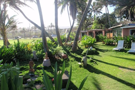 BEACHFRONT 1 BDRM PRIVATE RETREAT - Laie - House