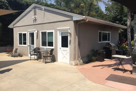 Detached Private Studio Unit on Lush Landscape - Carpinteria - House