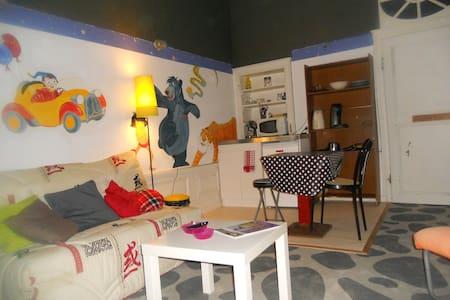 chambre meublé avec cuisine ,sdbain et wc privé - House