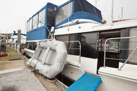 VIP 51 ft Bluewater coastal yacht - Oakland