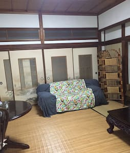 二丈の山、田園に囲まれた築70年の日本家屋でのんびりと自然を満喫やね - House