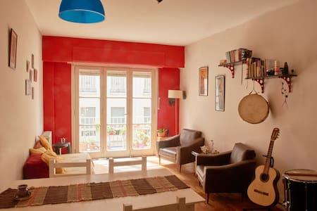 Habitación privada con cama doble en SanTelmo - Apartamento