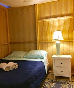 The Blue Cabin Room, free bikes! - Rumah