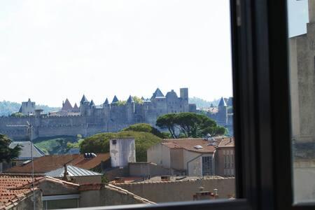 La plus belle vue sur la Cité Médiévale ! - Carcassonne - House