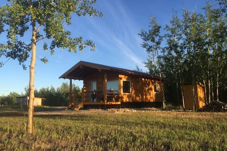 Oma and Opa's Northern Lights Cabin - Cabin