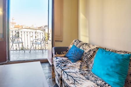 Belle chambre, terrasse, vic centre - Vic