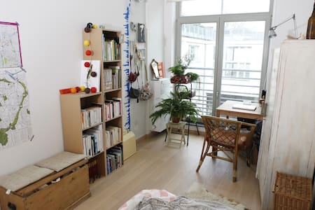 Chambre lumineuse au quartier WIELS - Forest - Apartment