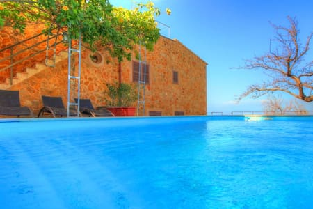 Villa relax with beautifull seaviws - Colonia Sant Pere