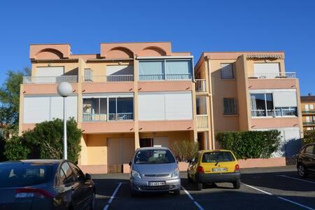 Appartement 350m des plages avec parking et balcon - Valras-Plage