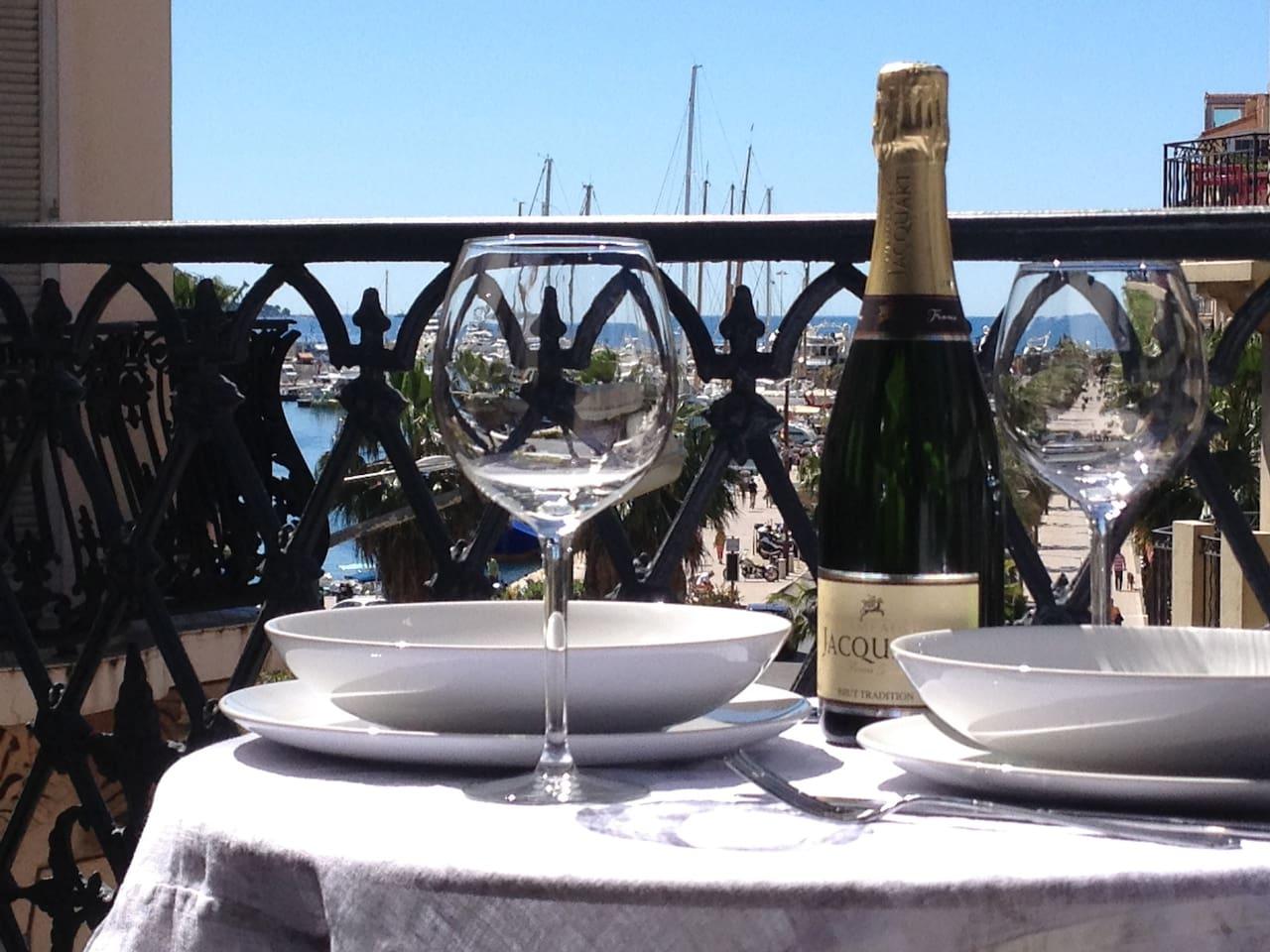 Enjoy an aperitivo or café on our Seaview Terrace