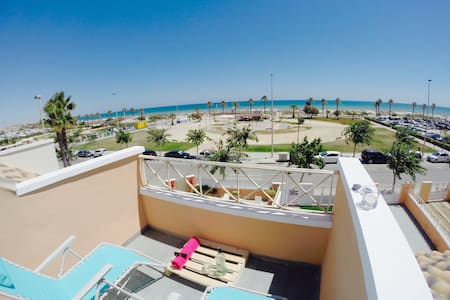 Double room beachfront home ground floor - Pilar de la Horadada - Casa