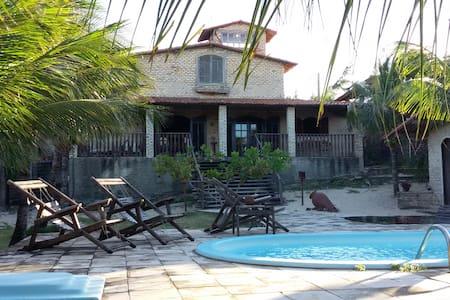 Casa de praia em um paraiso tropical - Casa