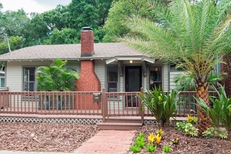 Historic Bungalow in Seminole Heights - Tampa - Bungalow