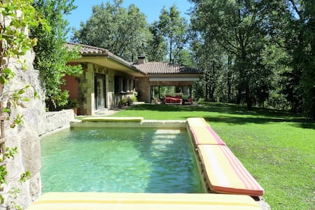 Elegante mountain house in lush nature - Villa